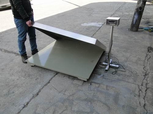 SCS-河南郑州厂家供应5T地磅 不锈钢电子磅秤 质优价廉