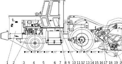 由齿轮泵13和全液压转向器3图片