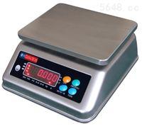 批发水产市场用30kg防水电子秤优质不锈钢防水桌秤报价